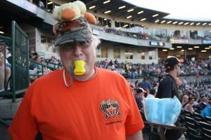 David Purdy of South Setauket is a dedicated Ducks fan
