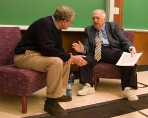 Bob Woodward and Bob Greene.