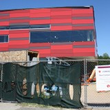 The new Stony Brook University Recreational Center onJuly 25, 2012. The center is set to open in September. Photo by Hannah Fagin