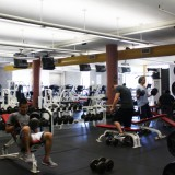 The current work out facility is only approximately 3,000 square feet. Photo by Hannah Fagin