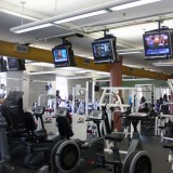 Exercise equipment in the current work out facility located on the third floor of the Student Activity Center on July 25, 2012. Photo by Hannah Fagin