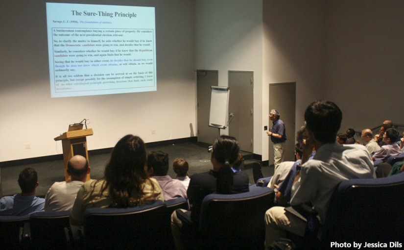Game theory confab honors mathematician John Nash